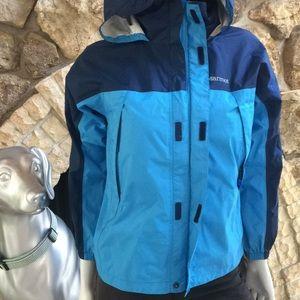 Marmot Kids Hooded Raincoat